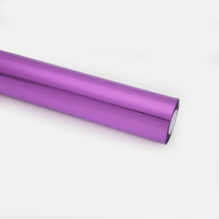Các nhà sản xuất Xingyu sản xuất và bán phim ánh sáng mờ loại phim siêu dẻo ánh sáng màu tím bronzin