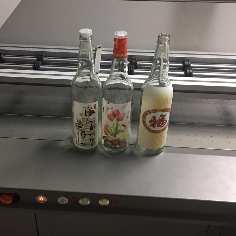 Doanh nhân dự án 6090 máy in uv nhỏ nhà sản xuất chai rượu vang bề mặt uv thiết bị in ấn bán hàng tr