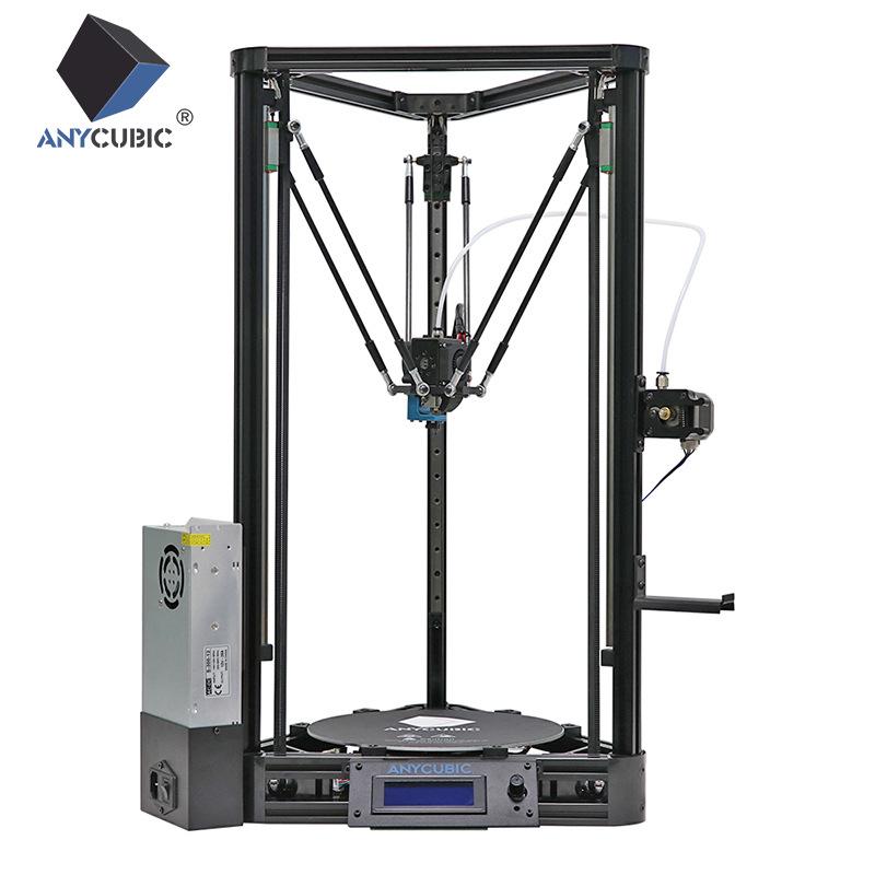 Máy in 3D DIY học máy in 3d in New Delta nhập kit đường sắt cộng với