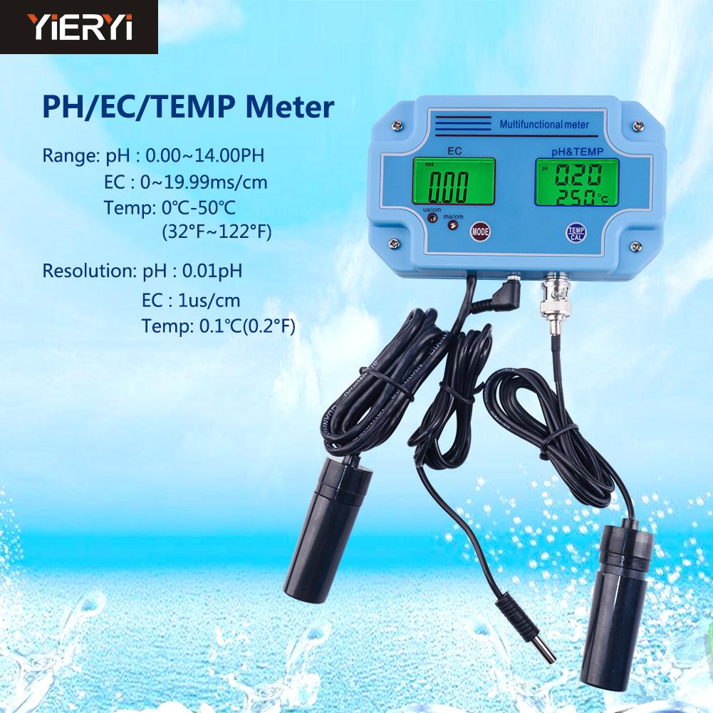 Xách tay PH-2981 kiểm tra chất lượng nước bút ph pH tester fish tank phân tích cụ thử nghiệm bút