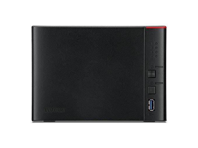 BUFFALO Buffalo LS441DE nas mạng lưu trữ máy chủ hộp trống (bốn vị trí / máy tính để bàn / nhà và vă