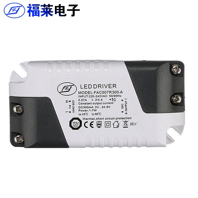 Led ổ điện 4-7 Wát bên ngoài liên tục ổ hiện tại TUV chứng nhận điện trần bảng điều khiển ánh sáng á