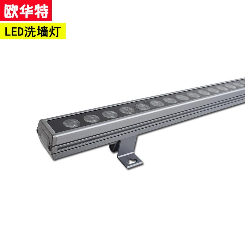 Cross-biên giới cung cấp ngoài trời chiếu sáng tường máy giặt DMX521 điều khiển bên ngoài dòng đèn k