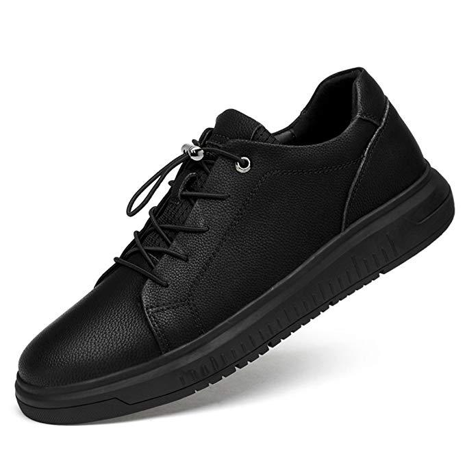 Giày Da cho nam kiểu dáng thời trang Hàn Quốc màu đen