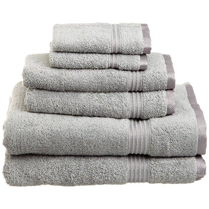 Bộ bông Ai Cập cao cấp của 6 bộ khăn bạc