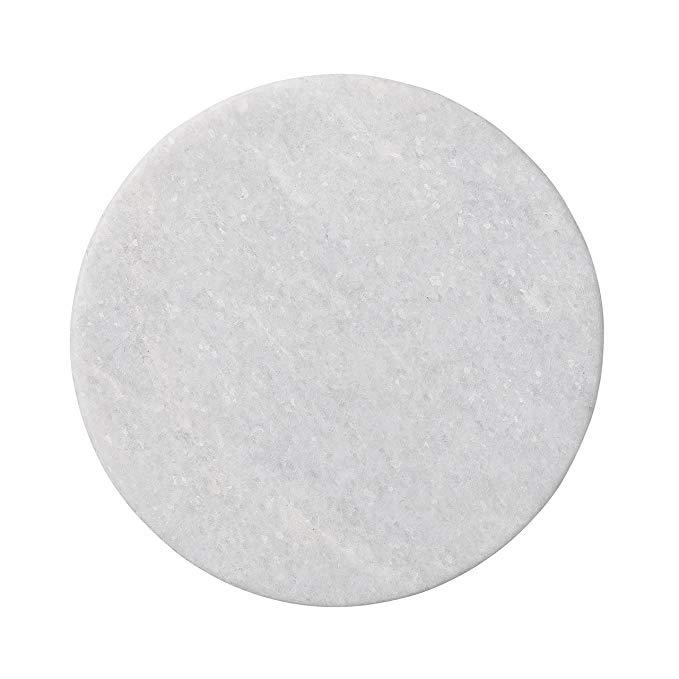 Vật Liệu xây dựng : Khay đá cẩm thạch trắng tròn Lát Sàn nhà .
