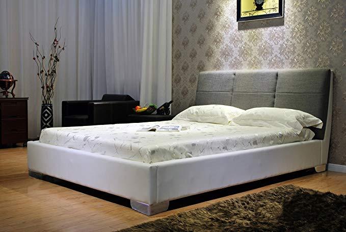 Đơn giản và thanh lịch mềm tựa đầu vải mềm gói giường UB1145 (180x200)