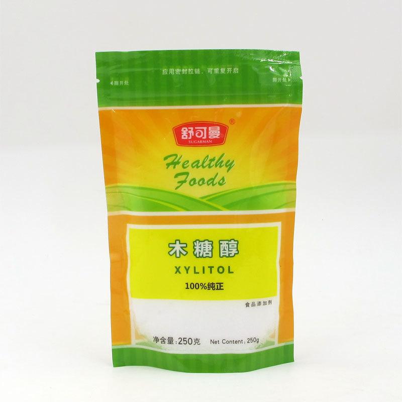 Nguyên liệu Phụ gia Thực Phẩm Xylitol , chất làm ngọt thực vật được chiết xuất từ lõi ngô .
