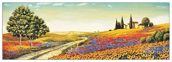 Artopweb LEBLANC - Buổi sáng trong Thung lũng (bảng trang trí 136x48 cm)