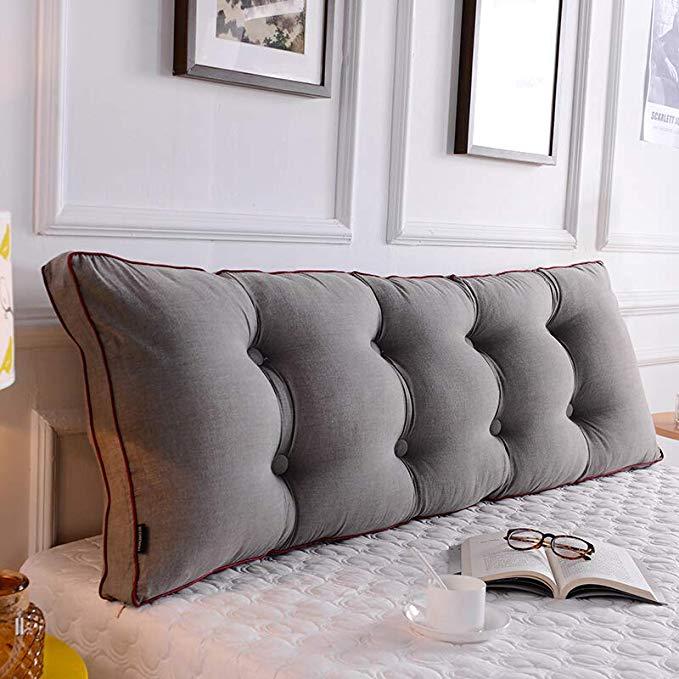 Nhật bản đơn giản lưới giường đệm lớn trở lại eo bông có thể tháo rời và có thể giặt tatami mềm túi