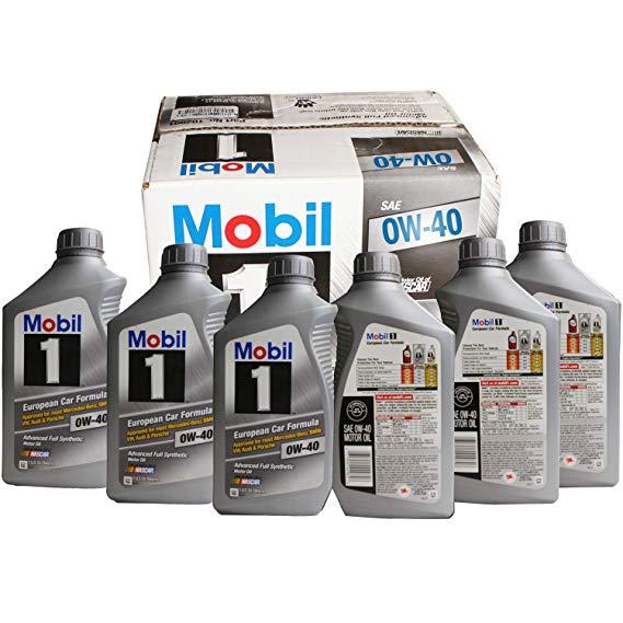 Thị trường bảo dưỡng : Dầu Động Cơ Tổng Hợp Mobil 1F 96989 0W-40