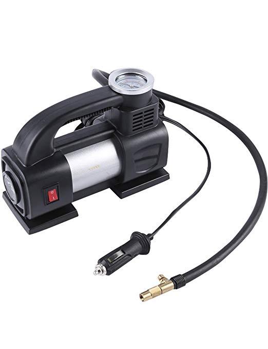xi lanh máy bơm không khí 12 V cơ khí đồng hồ Đa chức năng xe air pump Điện inflator