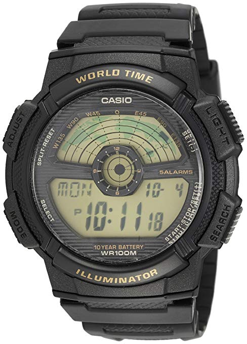 Đồng hồ nam điện tử  CASIO : AE-1100W-1BV