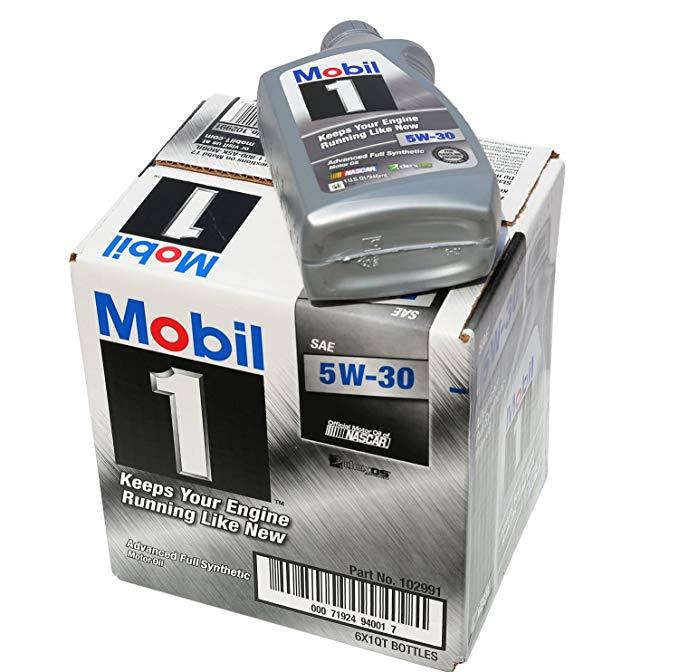 Thị trường bảo dưỡng : Dầu Động Cơ Tổng Hợp Mobil 5W-30 1 quart