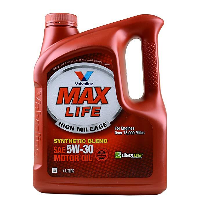 Thị trường bảo dưỡng : MAX LIFE Dầu Động Cơ Tổng Hợp SN 5W-30 4L .