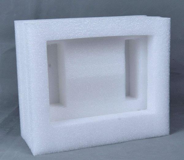 hộp mút Trắng PE  cố định vật liệu đóng gói vật liệu Mới dày bảo vệ chống sốc.
