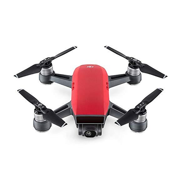 Máy bay camera Điều Khiển Từ xa : DJI Spark với Combo điều khiển từ xa (Đỏ)