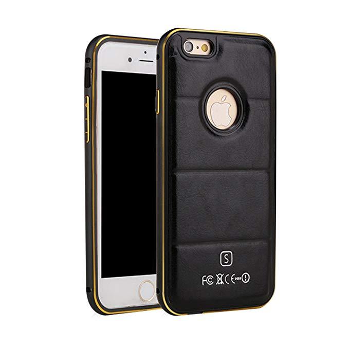 Ikodoo yêu bảo vệ mát nắp cho Apple iPhone6 Plus / iPhone6S Plus 5.5 inch titan nhôm đôi kim loại kh