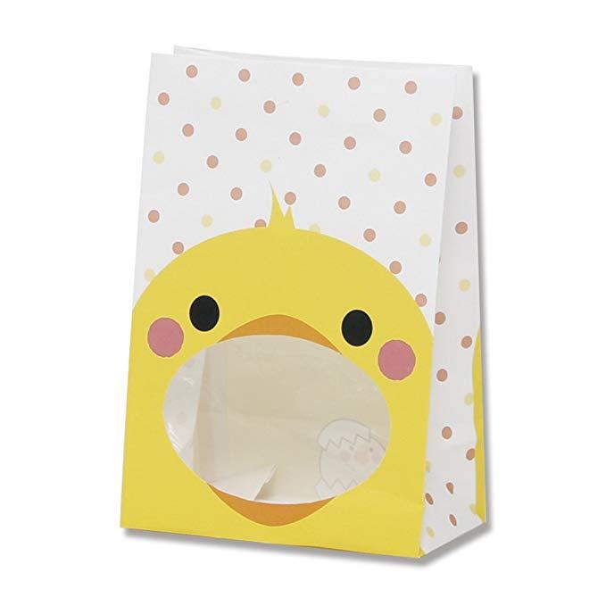 Túi giấy Heiko với cửa sổ S1F thỏ 12x6.5x17.5cm 50 tờ phụ huynh rộng bên
