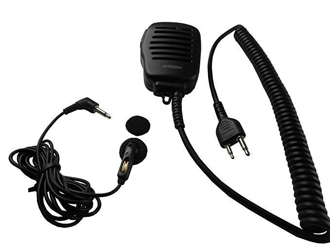 Anteenna TW-52SS Loa micro có chức năng phát lại với clip kim loại cho radio hai chiều cho Icom Maxo