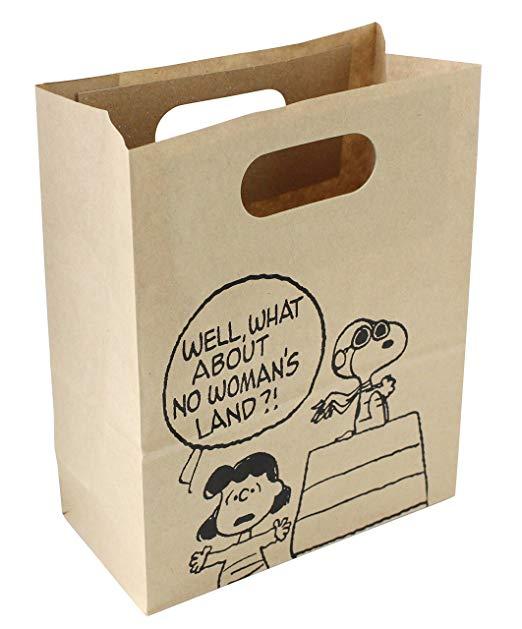 APJ Snoopy túi giấy giấy handmade quà tặng giấy túi 3 cái D