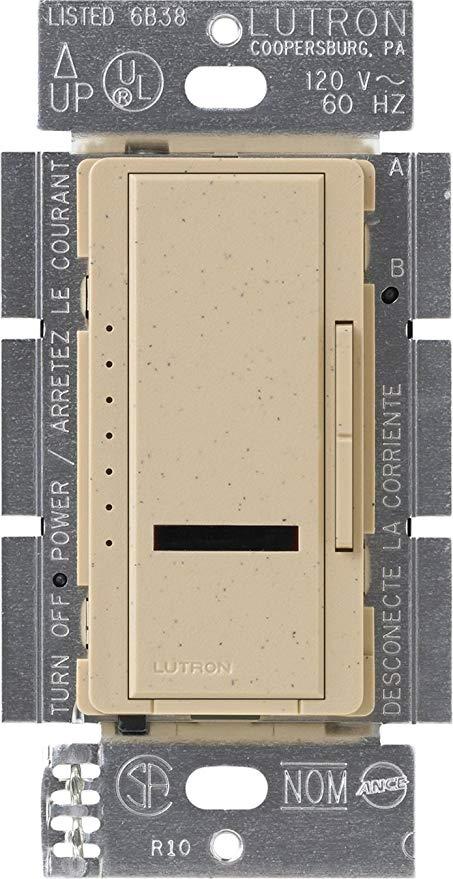 Lutron Maestro IR 1000 Watt đơn cực Dimmer Sa mạc đá MIR-1000-DS