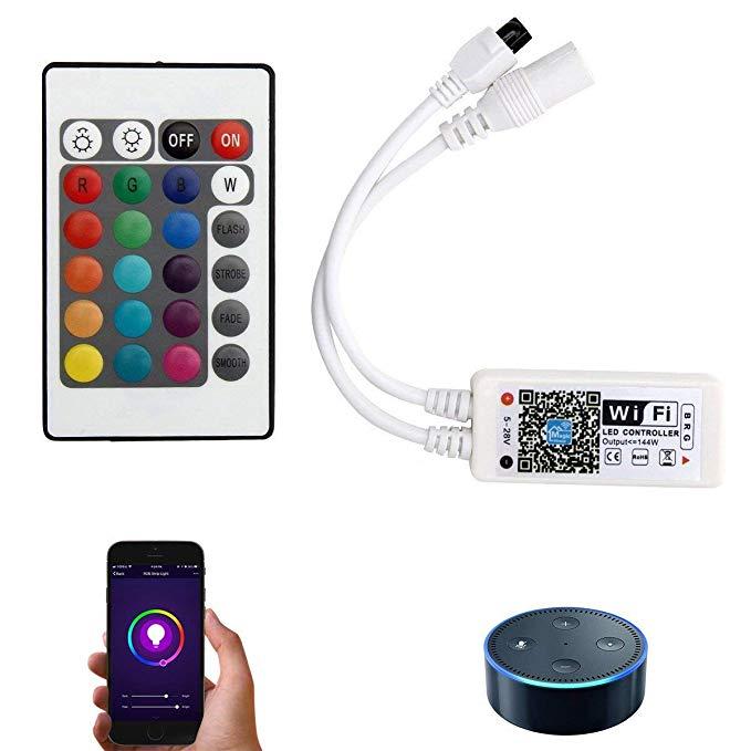 Bộ điều khiển thông minh không dây cho đèn dải RGB