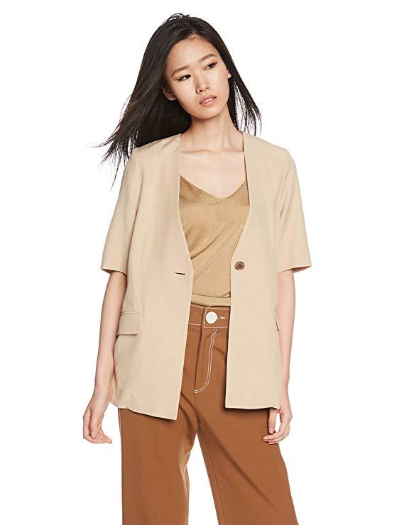 Áo khoác nữ   jacket  Snidel điểm tay -182005
