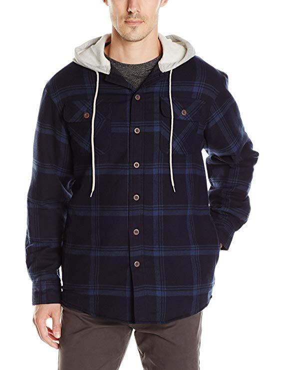 Wrangler authentics  áo khoác kiêu trùm đầu