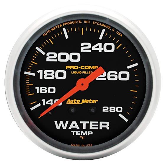 AUTO meter 5431 dụng cụ đo nhiệt độ nước đầy chất lỏng cơ học