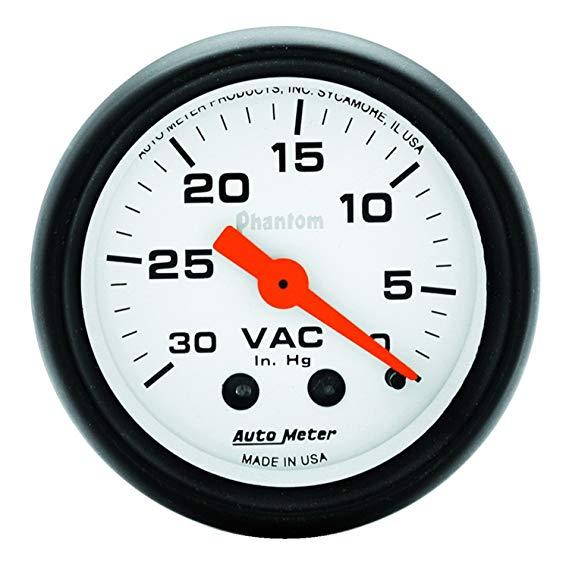 AUTO meter 5784 Phantom Mechanical Vacuum Thông số kỹ thuật