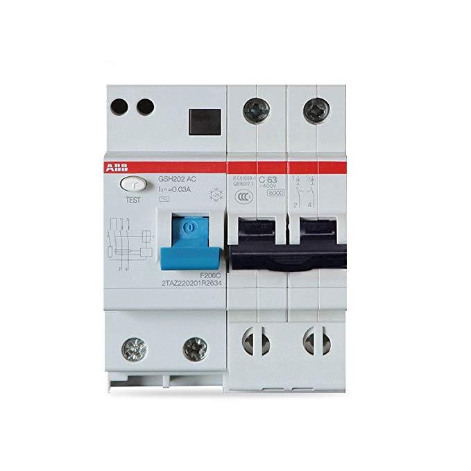 Bộ bảo vệ rò rỉ ABB GSH202 AC-C63 / 0.03 (bộ bảo vệ rò rỉ 2P-63A)