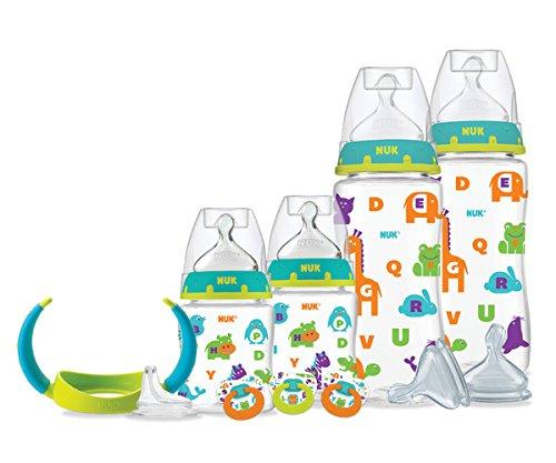 Bộ bình sữa cho trẻ sơ sinh hiệu NUK