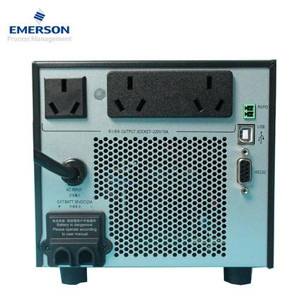 Emerson UPS cung cấp điện liên tục GXE điều chỉnh trực tuyến 1KVA / 800W cung cấp điện bên ngoài pin