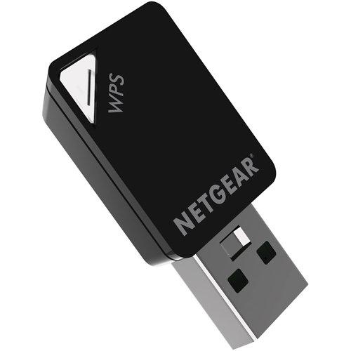NETGEAR A6210 - Bộ chuyển đổi Wi-Fi USB 3.0 có độ khuếch đại cao 100 PES AC 1200