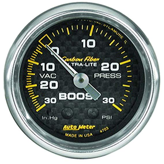 AUTO meter 4703 sợi carbon máy BOOST / chân không thông số kỹ thuật