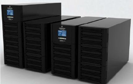 Emerson UPS GXE 10k00TE1101C00 10KVA / 8000W tiêu chuẩn máy đầu máy trực tuyến tháp