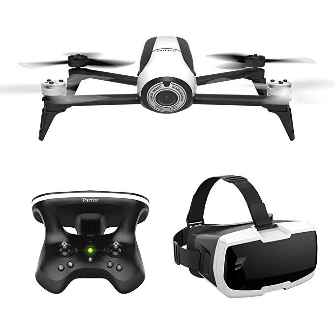 Máy Bay camera Điều khiển từ xa  - Parrot BeBop 2 drone bộ