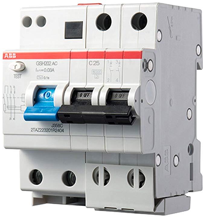 Bảo vệ rò rỉ ABB GSH202 AC-C25 / 0.03