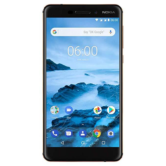 Nokia 6.1 mở khóa điện thoại thông minh GSM TA 1045 màu đen