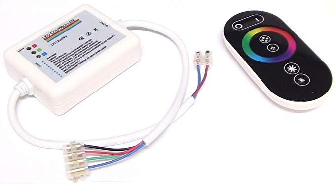 Bộ điều khiển dải LED RGB 18A Điều khiển từ xa RF