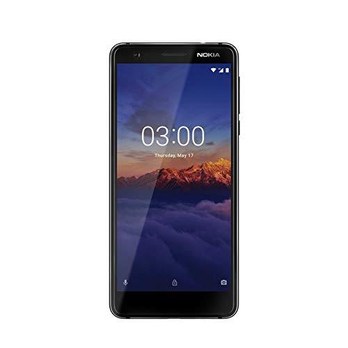 Điện thoại thông minh rảnh tay Nokia 3.1 2018 11ES2B01A21 màu đen / bạc
