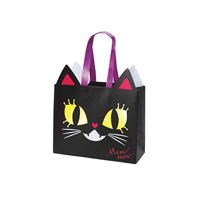 Túi quà túi giấy túi mèo đen