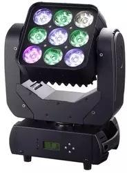 Đèn chùm đèn KTV 9 bóng LED có thể xoay vòng .