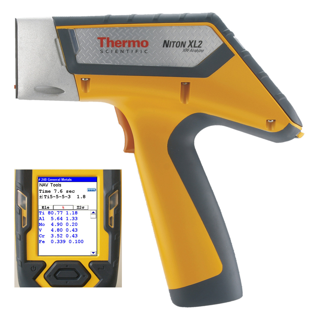 Máy phân tích hợp kim cầm tay Niton nito XL2100G mới nhất của Mỹ