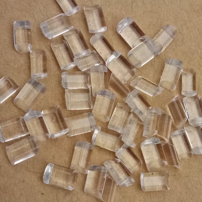 Nhựa tái sinh Vật liệu tái chế PMMA Hạt acrylic trong suốt Không có điểm đen Vật liệu đặc biệt bể nh