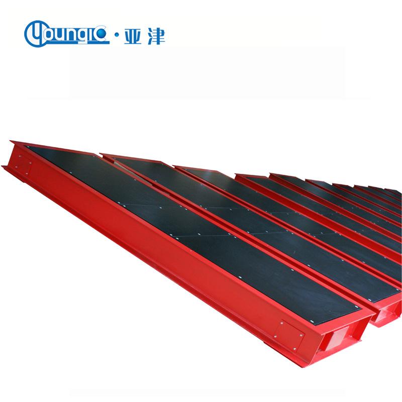 Cân sàn tải trọng trục cố định SCS-YJ-60T , tấm trọng lượng trục tĩnh 100 tấn