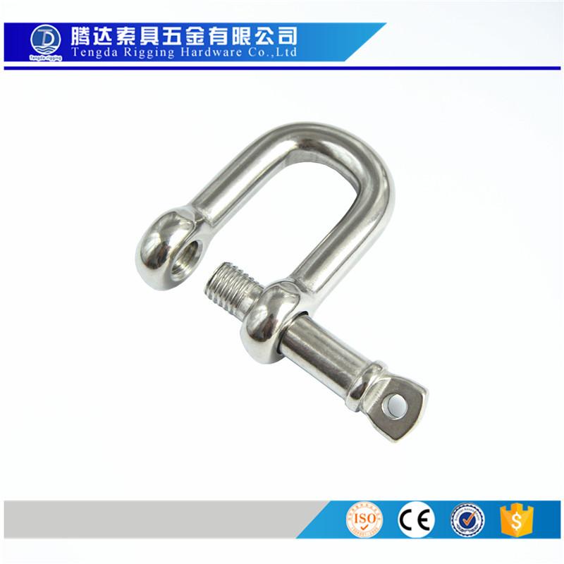 Tengda Ma-ní Còng thép không gỉ Binzhou Tengda, cùm loại D, cùm không đổ, cùm tự khóa