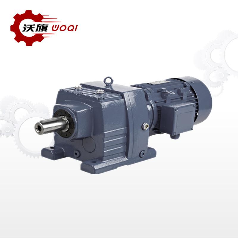 WOQI Máy giảm tốc Hộp giảm tốc đồng trục WR47-Y1.5KW-4P-10-M1-φ30