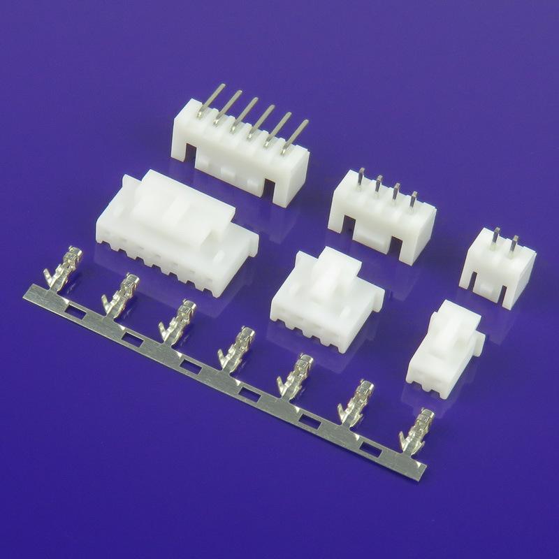 DEKE Đầu nối XHB XH2.54  khóa nhựa Vỏ nhựa 2,54 khoảng cách ổ cắm